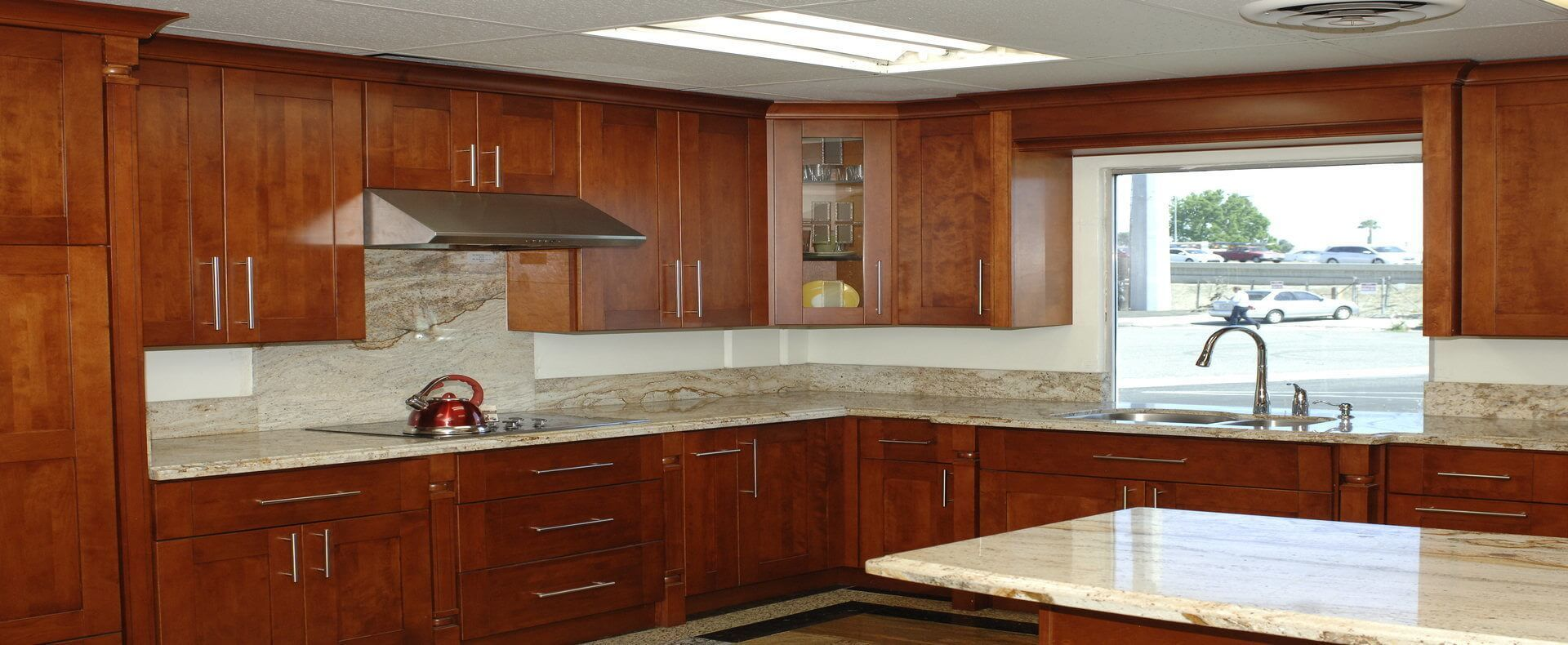 A Picture Of The Aiden Showroom Bianco Modeno Cabinets ...